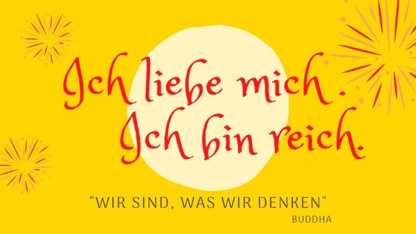 Affirmationen deutsch